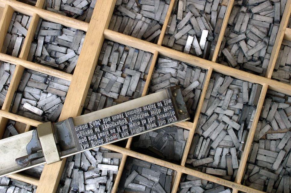 image shpwing typesetting